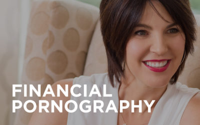 What is financial pornography?