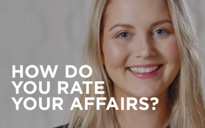 How would you rate your financial affairs out of ten?