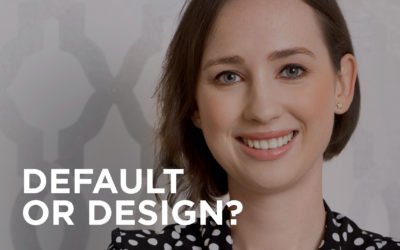 Did your portfolio come about by default or design?